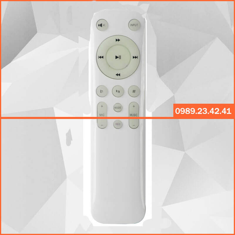Remote Amply Liền Vang Bosa KTV 3800A